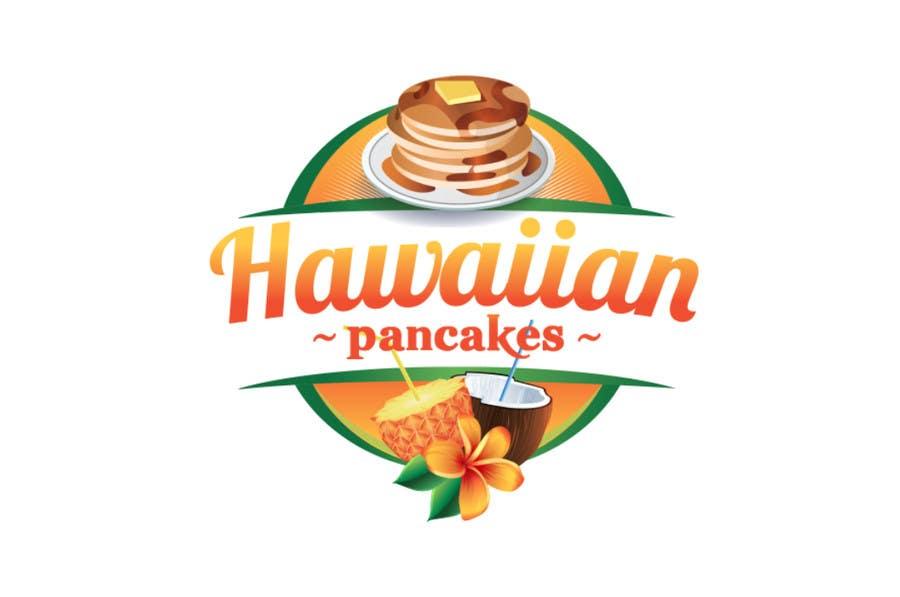 Kilpailutyö #22 kilpailussa Design a Logo for Hawaiian Pancakes