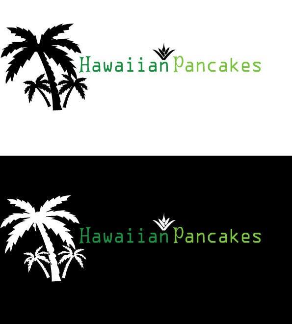 Kilpailutyö #3 kilpailussa Design a Logo for Hawaiian Pancakes