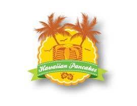 Nro 6 kilpailuun Design a Logo for Hawaiian Pancakes käyttäjältä donajolote