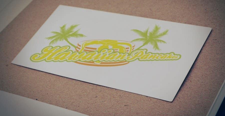 Kilpailutyö #10 kilpailussa Design a Logo for Hawaiian Pancakes