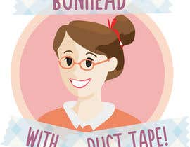 "asanilta tarafından Design a Logo for my ""Bunhead with Duct Tape"" Website/Blog/Business Cards için no 15"