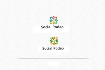 Nro 29 kilpailuun Design a Logo for Social Rodeo käyttäjältä cristinandrei