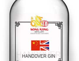 #9 untuk Design a Logo and bottle label for Handover Gin oleh shaefurr