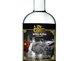 #96 untuk Design a Logo and bottle label for Handover Gin oleh shaefurr