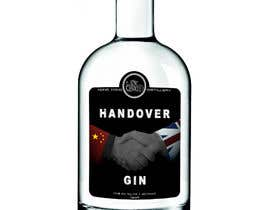 #201 untuk Design a Logo and bottle label for Handover Gin oleh shaefurr