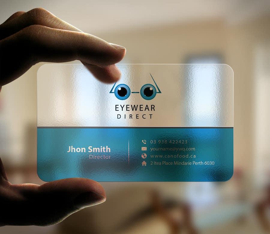 Penyertaan Peraduan #105 untuk Design some Business Cards for Eyewear Direct
