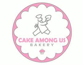 "#43 para Design a Logo for Bakery / Donut / Cake Shop ""Cake Among Us"" por bhcelaya"
