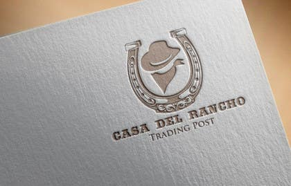 #20 untuk Design a Logo and Identity for Casa Del Ranch Trading Post oleh farooqshahjee
