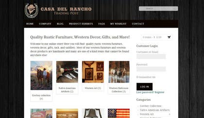 #38 untuk Design a Logo and Identity for Casa Del Ranch Trading Post oleh farooqshahjee