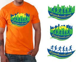 #37 for Design a logo & T-shirt for a running club by UsagiP