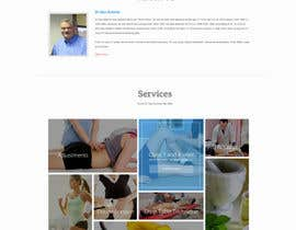 #16 untuk Design a Website Mockup for Guthrie Chiropractic oleh webmastersud