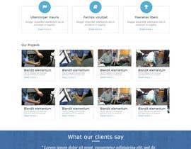#60 para Design a Website Mockup for Guthrie Chiropractic por lassoarts