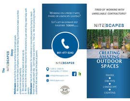 #7 for Design a Brochure for Nite Scapes af HebaWadud