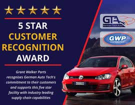 #22 untuk Illustrate Something for 5 Star Customer Recognition Award oleh Dezign365web