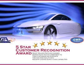 #17 untuk Illustrate Something for 5 Star Customer Recognition Award oleh bulutbebek