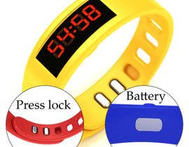 #38 para Design me a digital counting wristband por sathishcaddesign