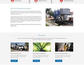 Nro 6 kilpailuun Redeign/Build a Website PLUS design logo for Kernow Environmental Services käyttäjältä webidea12