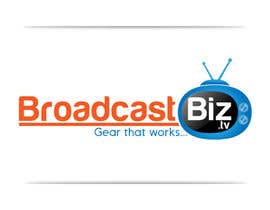 "#11 untuk Design a Company Logo and mascot for ""BroadcastBiz.tv"" oleh georgeecstazy"