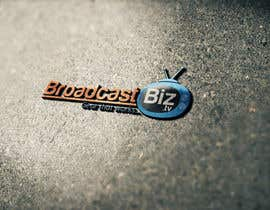 "#12 untuk Design a Company Logo and mascot for ""BroadcastBiz.tv"" oleh georgeecstazy"