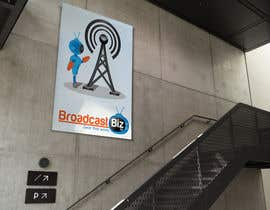 "#27 untuk Design a Company Logo and mascot for ""BroadcastBiz.tv"" oleh georgeecstazy"