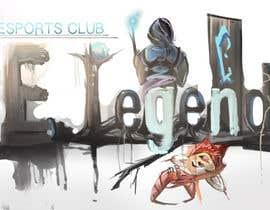 Nro 3 kilpailuun eLEGEND - Online Gaming Arena Social Network Logo käyttäjältä GSteakleyDesign