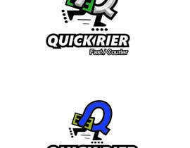 #19 cho Design LOGO for QUICK RIER (fast / courier) bởi ALEJVNDRO