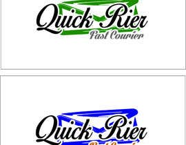 #27 cho Design LOGO for QUICK RIER (fast / courier) bởi ALEJVNDRO
