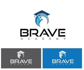 #22 untuk Design a Logo for BRAVE Academy oleh alyymomin