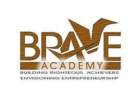 #62 untuk Design a Logo for BRAVE Academy oleh ginjin