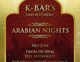 "#40 cho Design a Flyer/Poster for ""ARABIAN NIGHTS"" Theme Event bởi elgu"