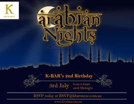 "#39 cho Design a Flyer/Poster for ""ARABIAN NIGHTS"" Theme Event bởi vessci"
