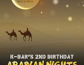 "#30 cho Design a Flyer/Poster for ""ARABIAN NIGHTS"" Theme Event bởi dani786"