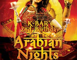 "#14 cho Design a Flyer/Poster for ""ARABIAN NIGHTS"" Theme Event bởi pbgrafix"