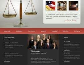 #46 for Build a Website for Law Group by Robert54321