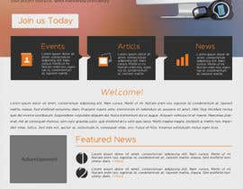 #46 for Make a new design for homepage... by SoadElHadad