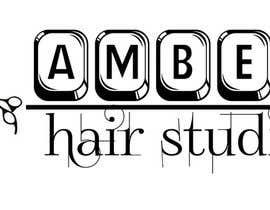 Nro 24 kilpailuun Design a logo amber hair studio käyttäjältä thdesiregroup