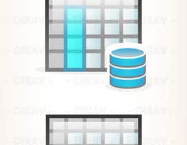 nº 14 pour Design some Icons for database icon set par dirav
