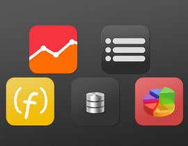 nº 10 pour Design some Icons for database icon set par ervanfahren