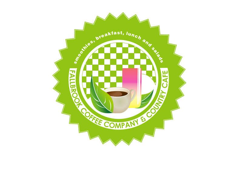 Penyertaan Peraduan #61 untuk Fallbrook Coffee Company Logo