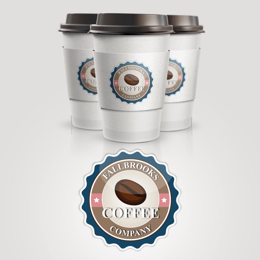 Penyertaan Peraduan #50 untuk Fallbrook Coffee Company Logo