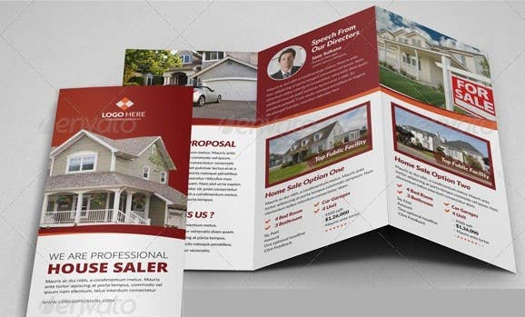 Konkurrenceindlæg #12 for Design a Brochure for a Property Marketing Business using the photos and text from my website.