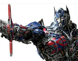 #5 for V FOR VENDETTA    VS    OPTIMUS PRIME af paulmage2