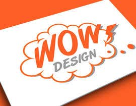 #177 for Design a Logo for WOW DESIGN company by Cougarsan
