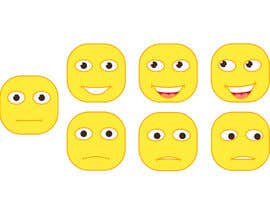 #26 for Design Seven Emoticons by DoctorRomchik