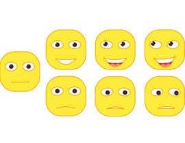 #26 for Design Seven Emoticons af DoctorRomchik