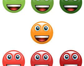 #36 for Design Seven Emoticons by tariqaziz777