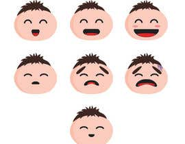 #30 for Design Seven Emoticons af AdiaDv