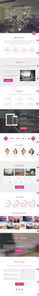 Kilpailutyön #8 pienoiskuva kilpailussa Landing page design for marketing agency