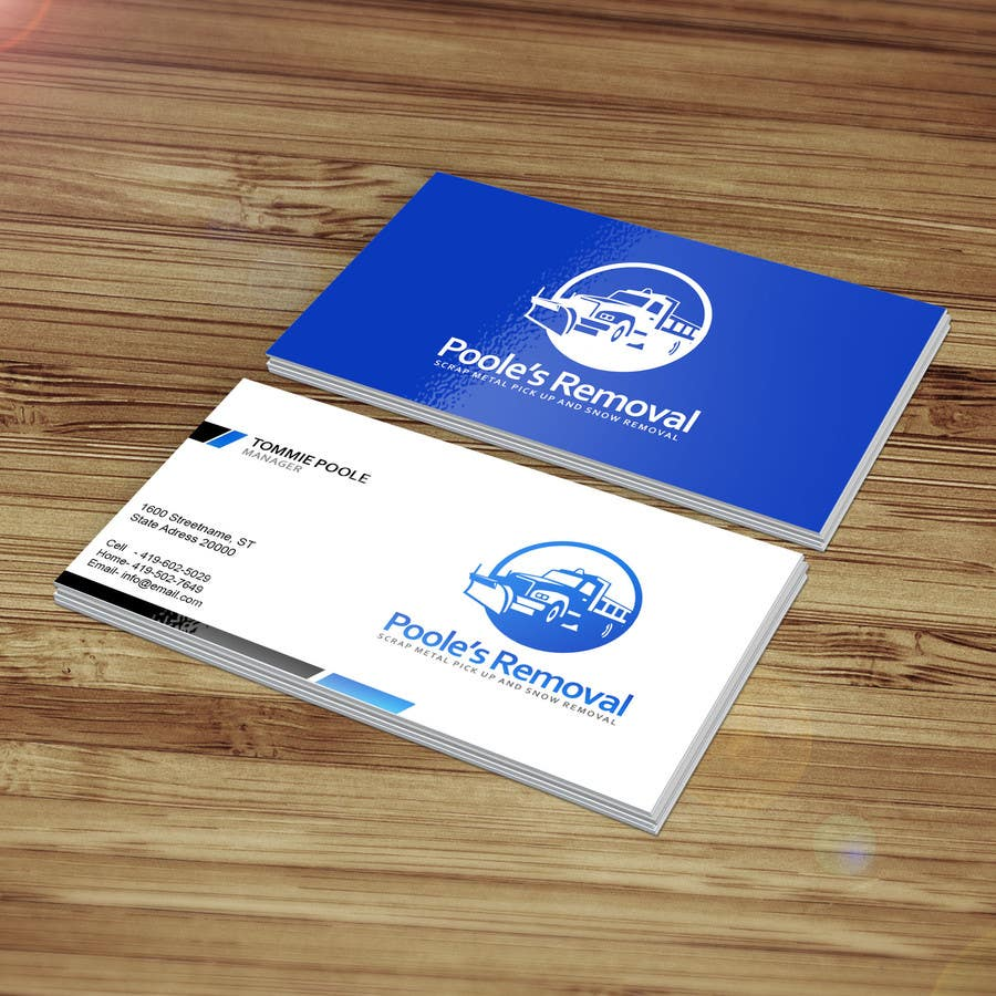 Entry #4 by rohan4lyphe for Design some Business Cards for Local ...