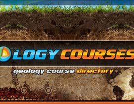 nº 18 pour Design a Banner for GeologyCourses.ca par mayerdesigns